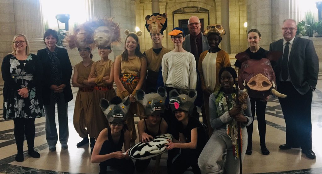 test Twitter Media - Thank you to students from Oak Park High, Highbury School, Steinbach Regional Secondary School & Centre Scolaire Léo Rémaillard for great performances!  Minister Goertzen announced increases in the Arts Education Grant to Manitoba schools. #education https://t.co/Z0epsCR6Dp