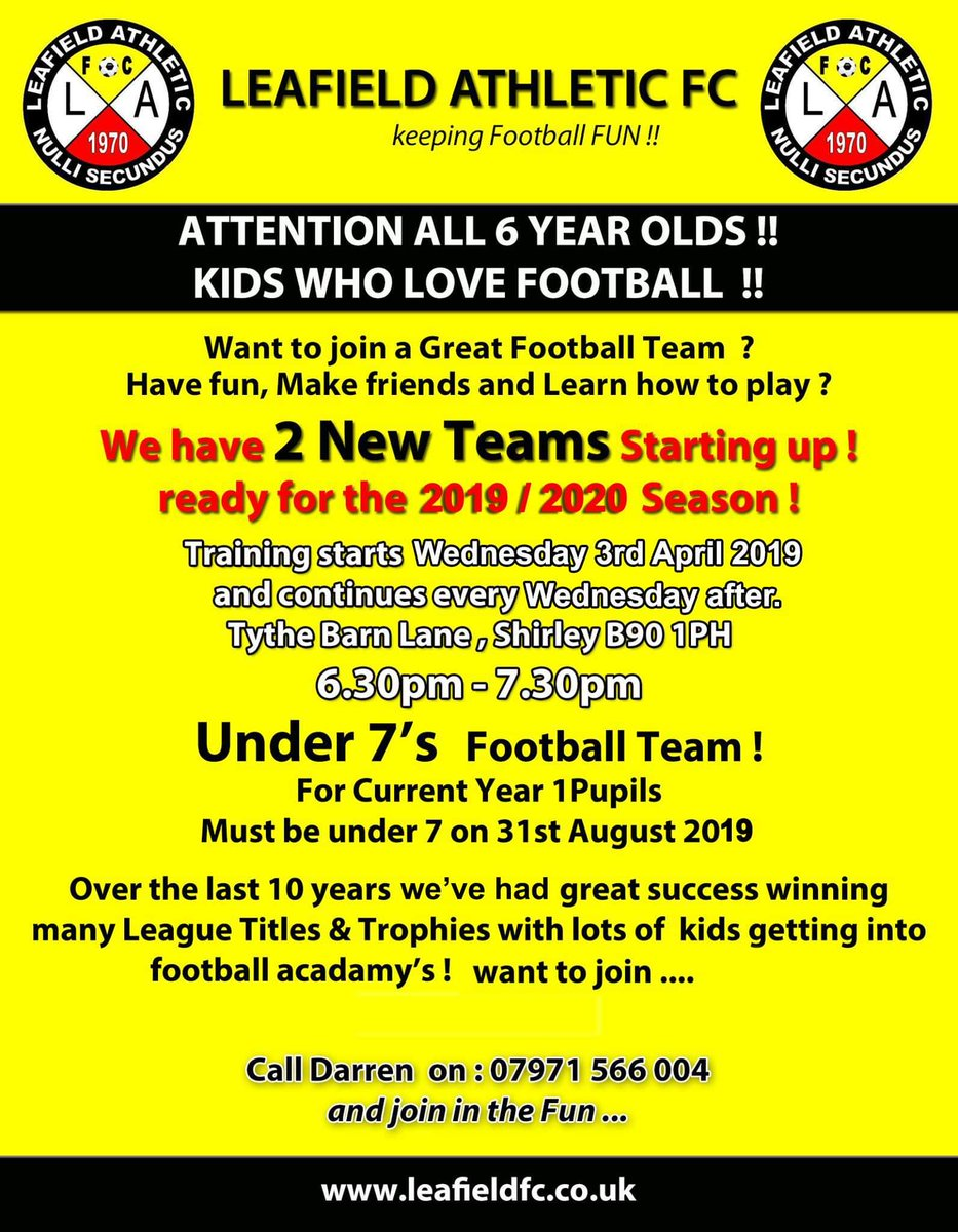 test Twitter Media - An opportunity for budding year 1 footballers! https://t.co/yjDHYthFSb