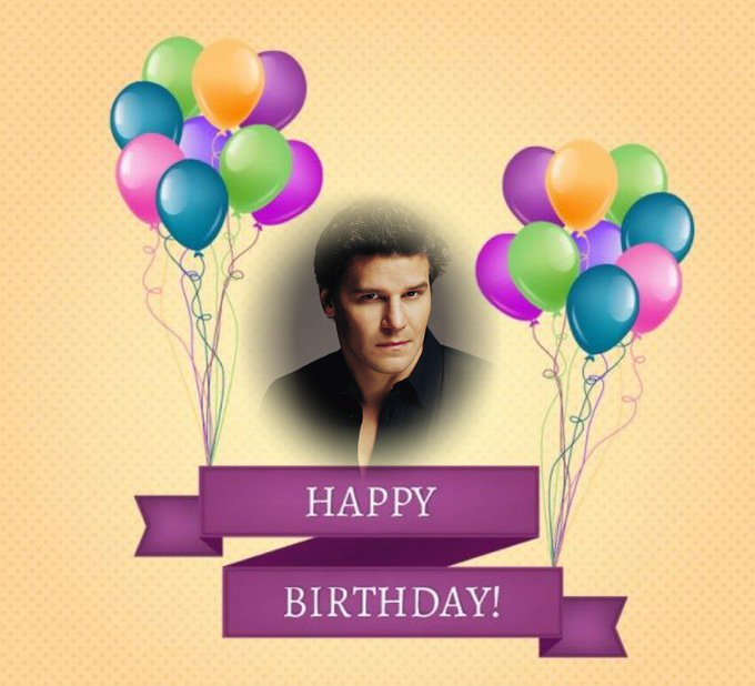 The 16th May Happy Birthday David Boreanaz