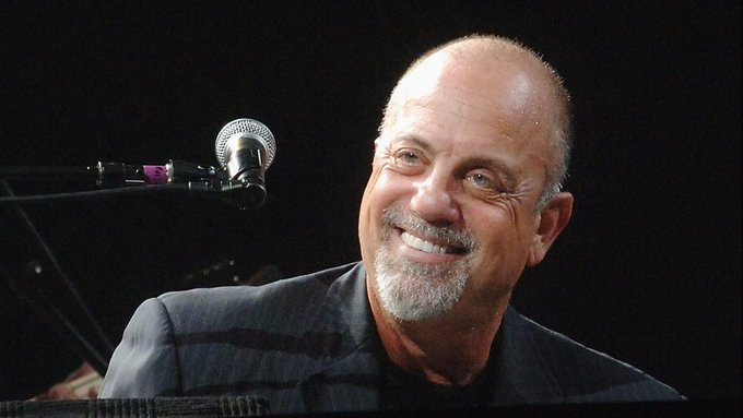 HAPPY 70TH BIRTHDAY TO BILLY JOEL TODAY AS HE PLAYS MADISON SQUARE GARDEN..