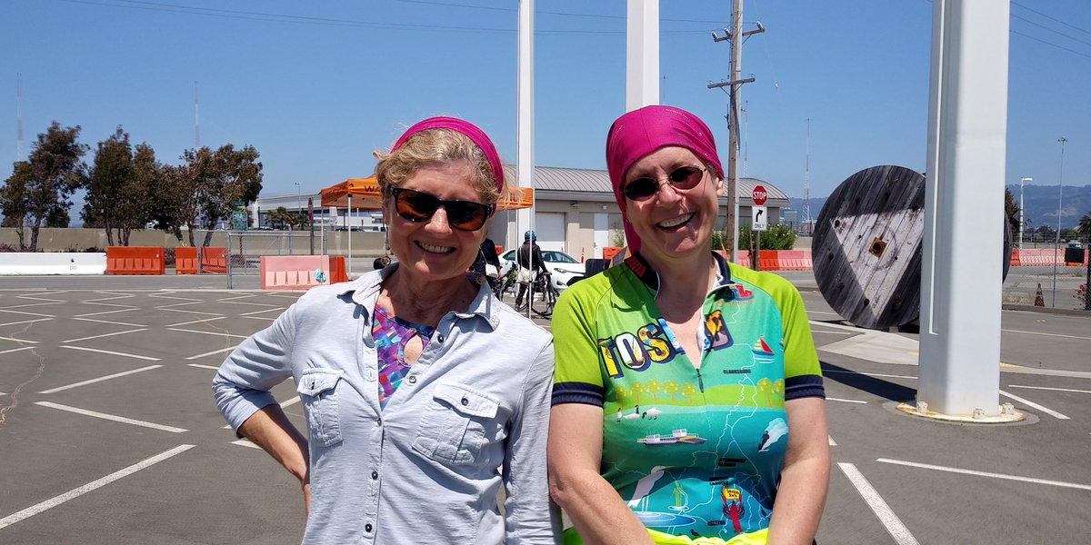 What a blast it was today. #cyclofemme tradition got 35+ rolling on the @BayBridgeInfo #bikemonth strong!  | tweeted by @walkoakbikeoak