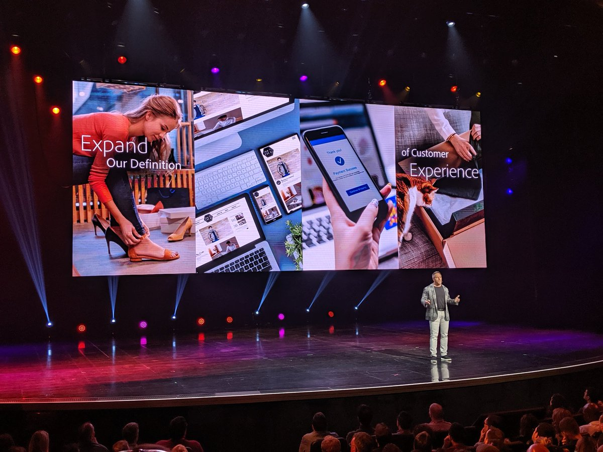 brianjlange: .@gspecter and his team invite us to expand our experience with @Magento, @adobe, and each other. #MagentoImagine https://t.co/NBIH67ie4j