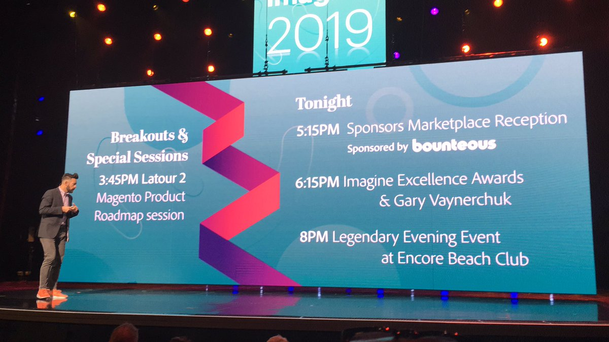 blackbooker: These are the events at #MagentoImagine you don't want to miss!!! https://t.co/wZGmwf3yZM