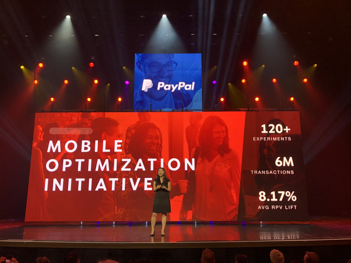 """GoldieChan: """"In the last yr the team has gathered data from over 6m transactions."""" @thejennycheng at @PayPal #magentoimagine https://t.co/oznaKdBtHh"""