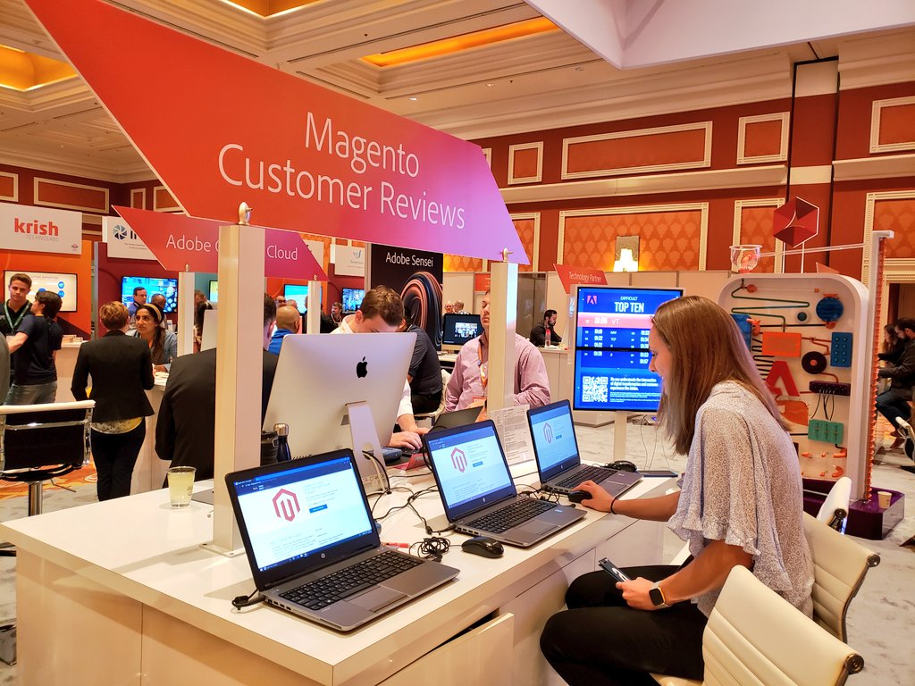 magento: Curious about Magento Customer Reviews? Stop by the @Adobe + #Magento booth at #MagentoImagine https://t.co/yz3RucOP3Y