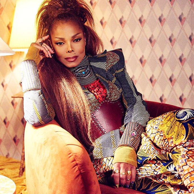 Janet Jackson is 52 today.  Happy birthday Janet!  Thanks for all the hits during my high school years.
