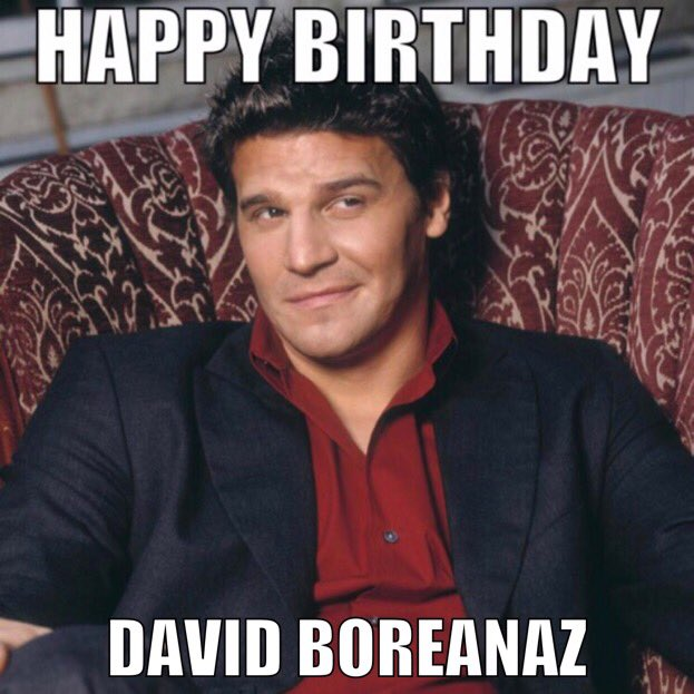 Wishing David Boreanaz a very happy birthday!