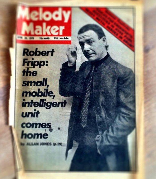 ¡Feliz Cumpleaños Robert Fripp!         Happy Birthday Robert Fripp!! guitarrista admirado.