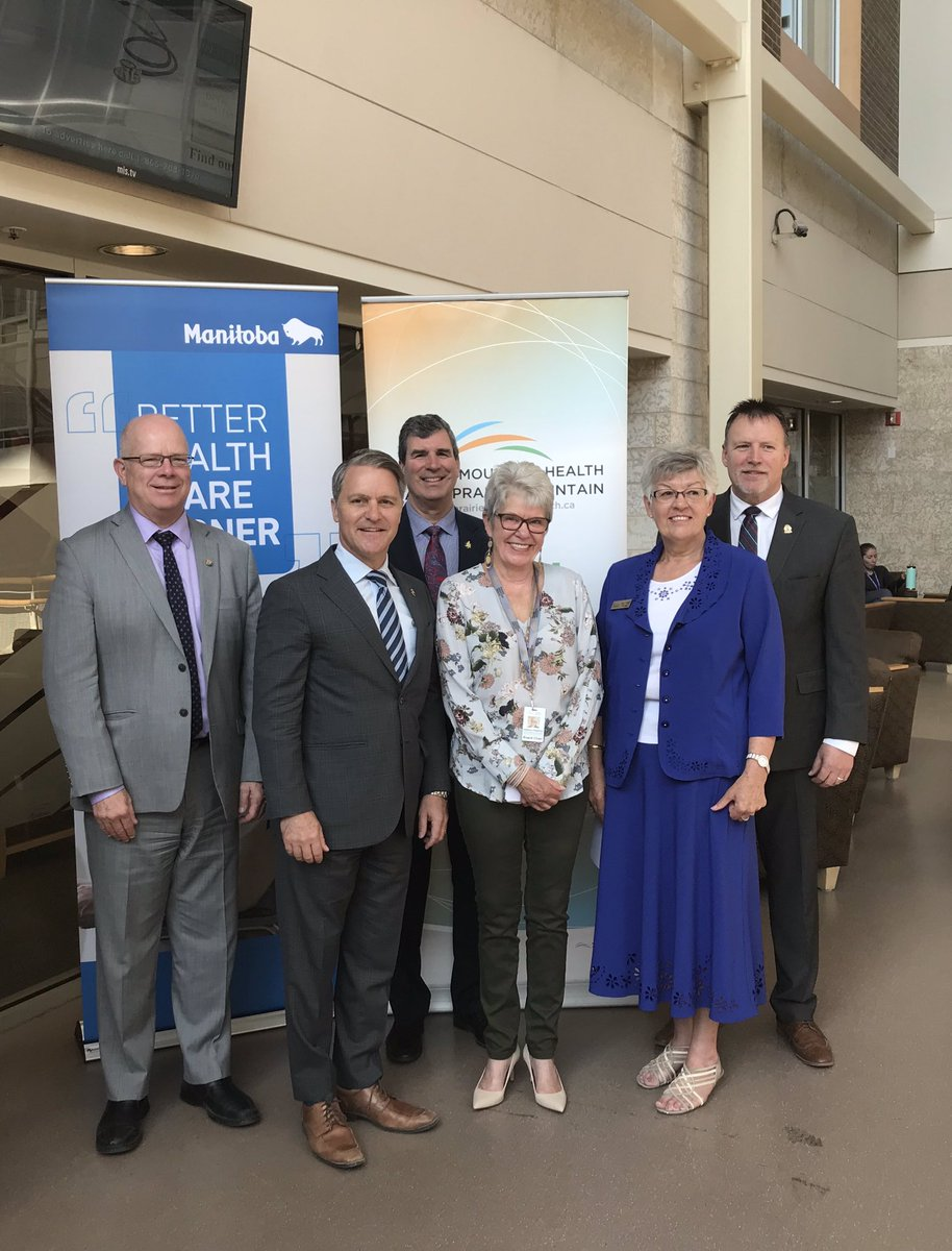 test Twitter Media - Happy to announce the completion of a multi-million dollar redevelopment at Brandon Regional Health Centre (BRHC) this morning. The redevelopment will enhance patient care while allowing for the opening of 12 additional medical beds at the facility! #mbpoli https://t.co/7Vrm0ZI0zT