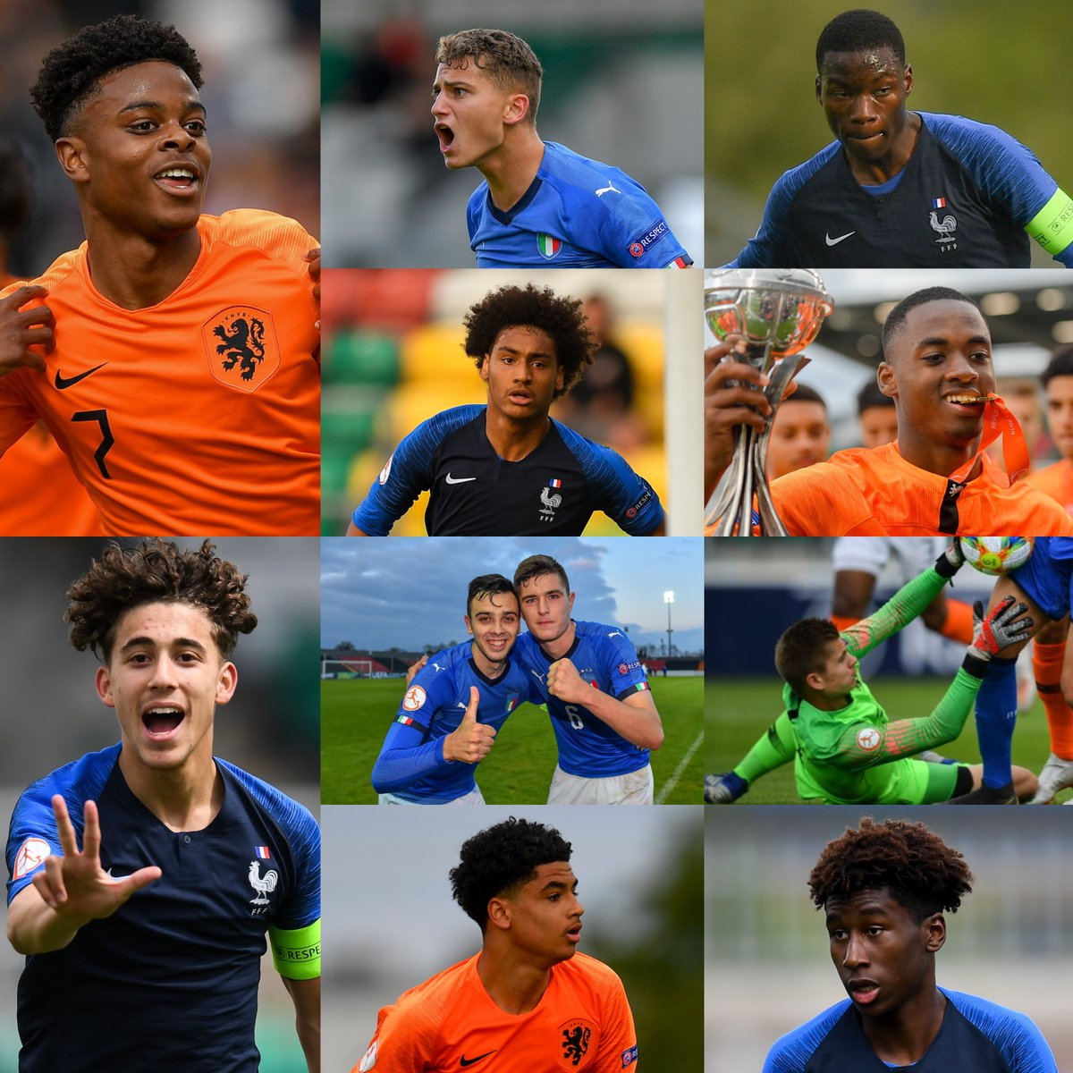 The #U17EURO team of the tournament has been named⭐⭐⭐⭐⭐⭐⭐⭐⭐⭐⭐  👇  https://t.co/IQun355dMW https://t.co/OhZQnBhRwn