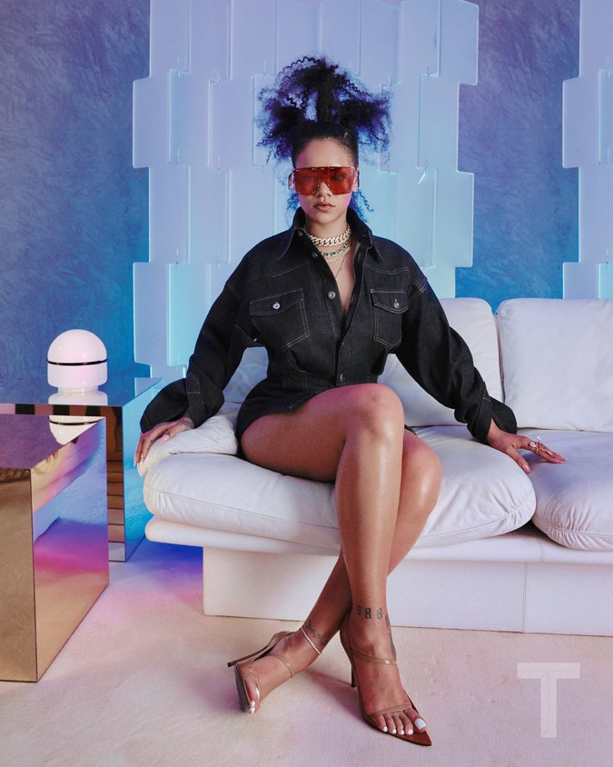 Rihanna Gives First Look at Fenty Fashion Line & Update on 'R9' Album