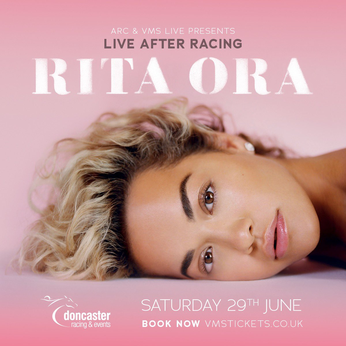 Tickets for my @DoncasterRaces show are on sale NOW! ????????❤️ Get tickets at https://t.co/6jR8D0g86H ???????? https://t.co/2vxaBFzkck