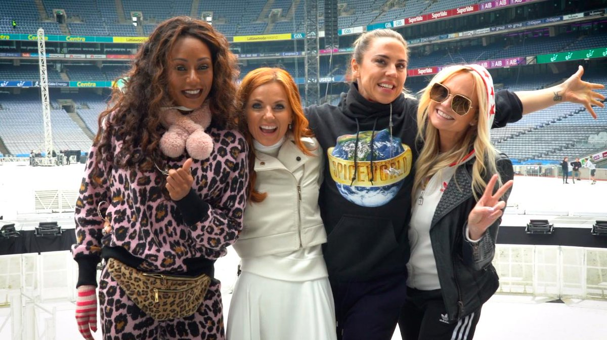 RT @spicegirls: Welcome to Spice World... Dublin, are you ready?! #SpiceWorld2019 https://t.co/jh4iHS2Ykn