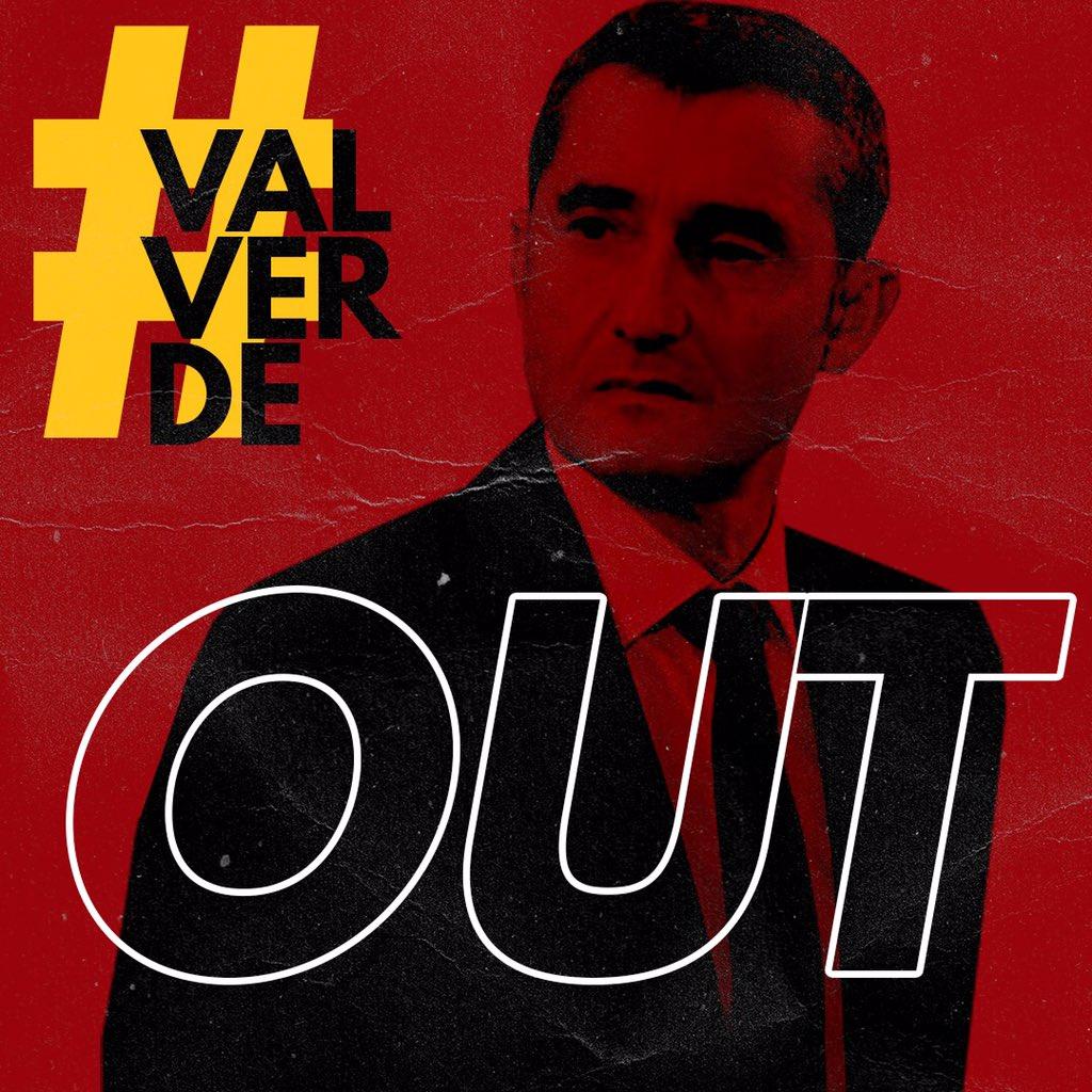 #ValverdeOUT ???????????????????????? https://t.co/F6qxvZ87dy