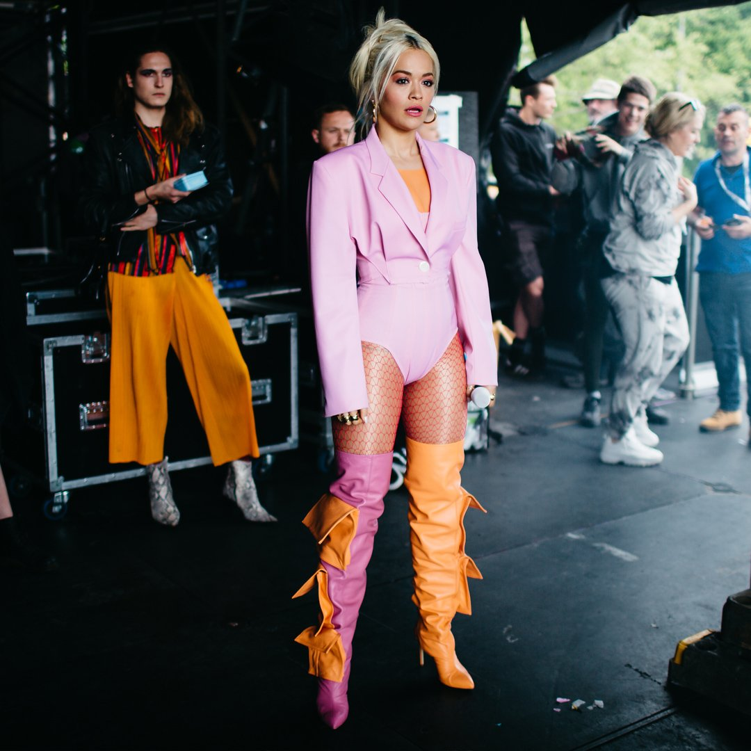 RT @BBCR1: When you are 10000% READY ????❤️ @RitaOra #BigWeekend https://t.co/t1eAecT2dw
