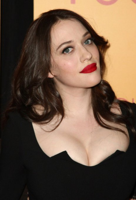A very happy birthday to the voluptuous Kat Dennings