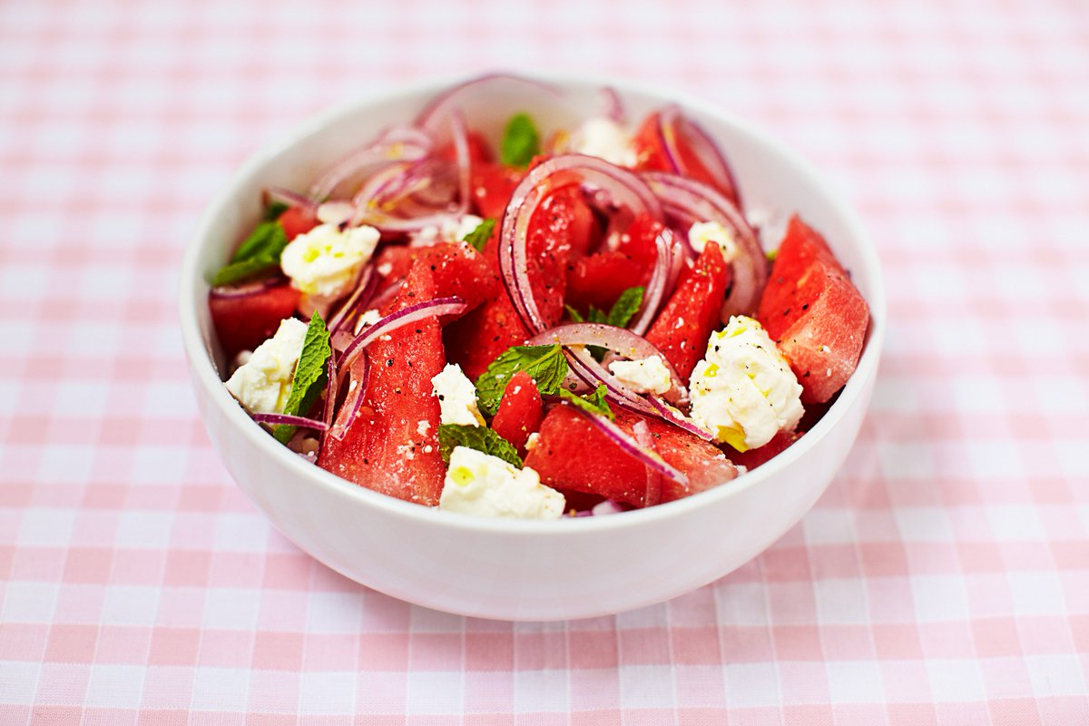 2. Watermelon & feta salad ????????????  Full of delicious flavours! https://t.co/futQsloT4N ???????????????????????????????????????????????????????????? https://t.co/NIyD1vpAjv