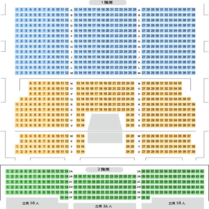 test ツイッターメディア - 【GRANRODEO】本日6/25公演のホール座席表をチェック Zeppダイバーシティ東京(シーティング(座席)/1,102人)https://t.co/yJUXrdZKg0 https://t.co/jQ0DpSo7hy