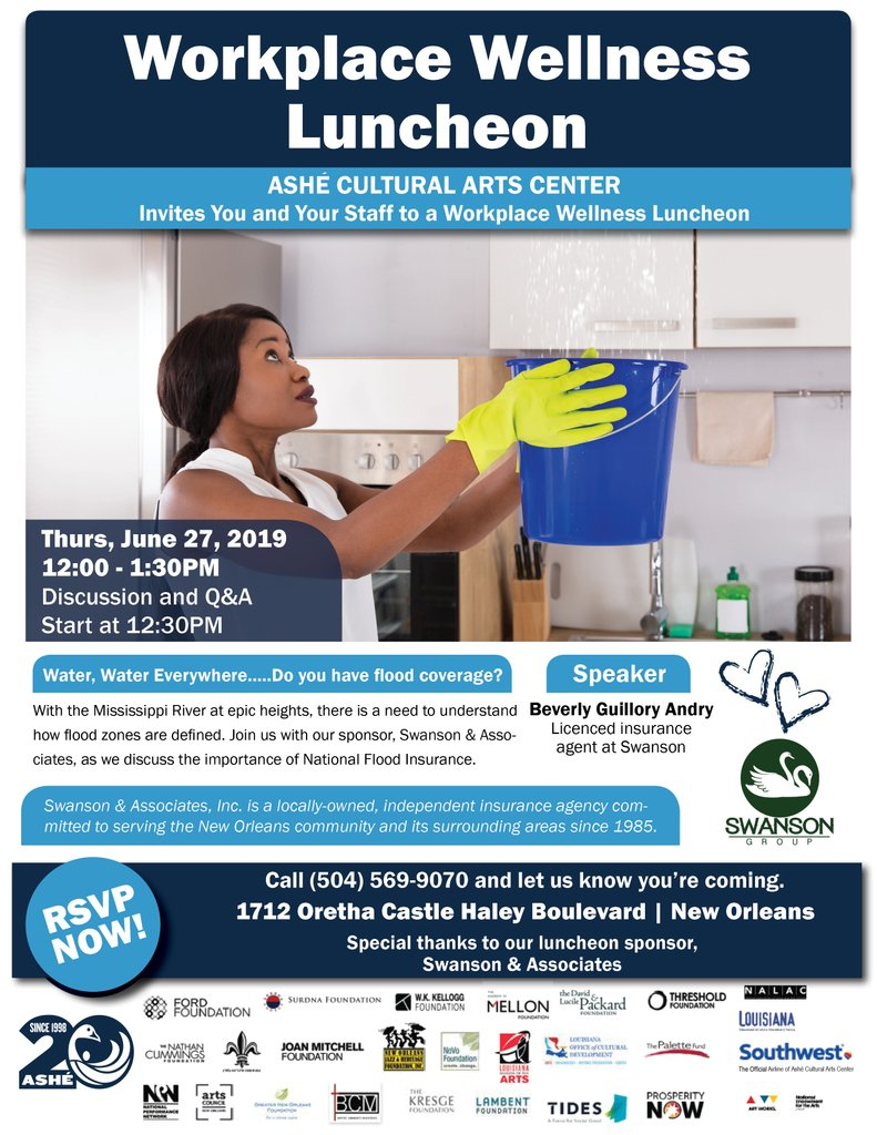test Twitter Media - Join us for our workplace wellness luncheon this Thursday! #NewOrleans #NOLA  Free and open to the public. https://t.co/l088PDpJGr