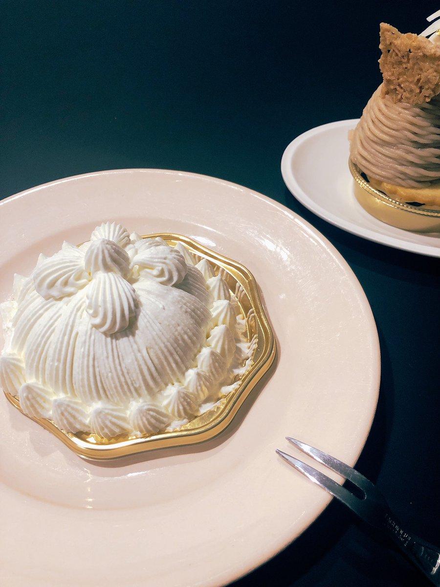 test ツイッターメディア - 美しいケーキ  味も繊細  #東京會舘 #マロンシャンテリー https://t.co/LpRZQjkOpS