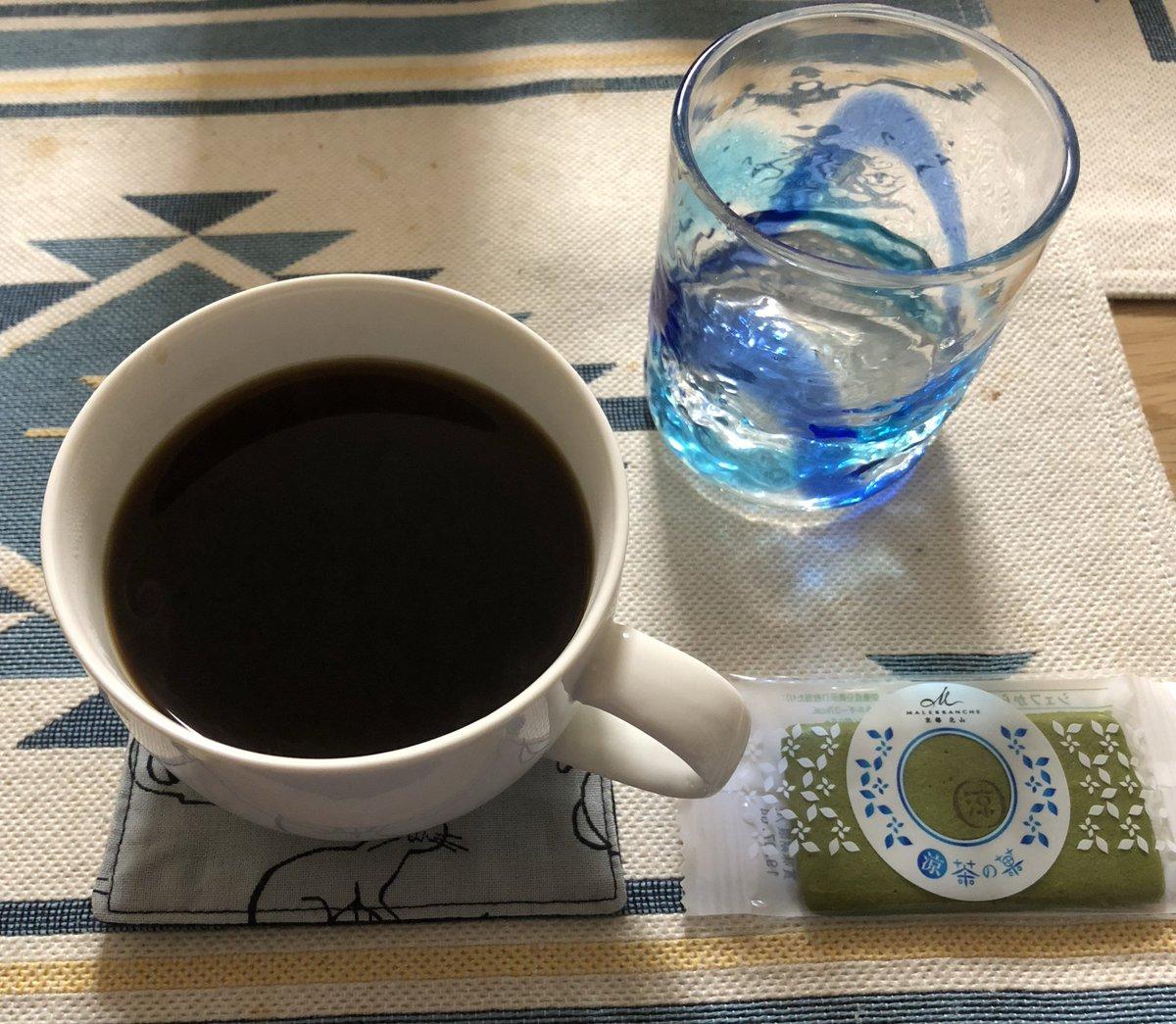 test ツイッターメディア - コーヒータイム。嫁さんが職場で貰ったマールブランシュの「茶の菓」で。 https://t.co/3MzklXDFKo