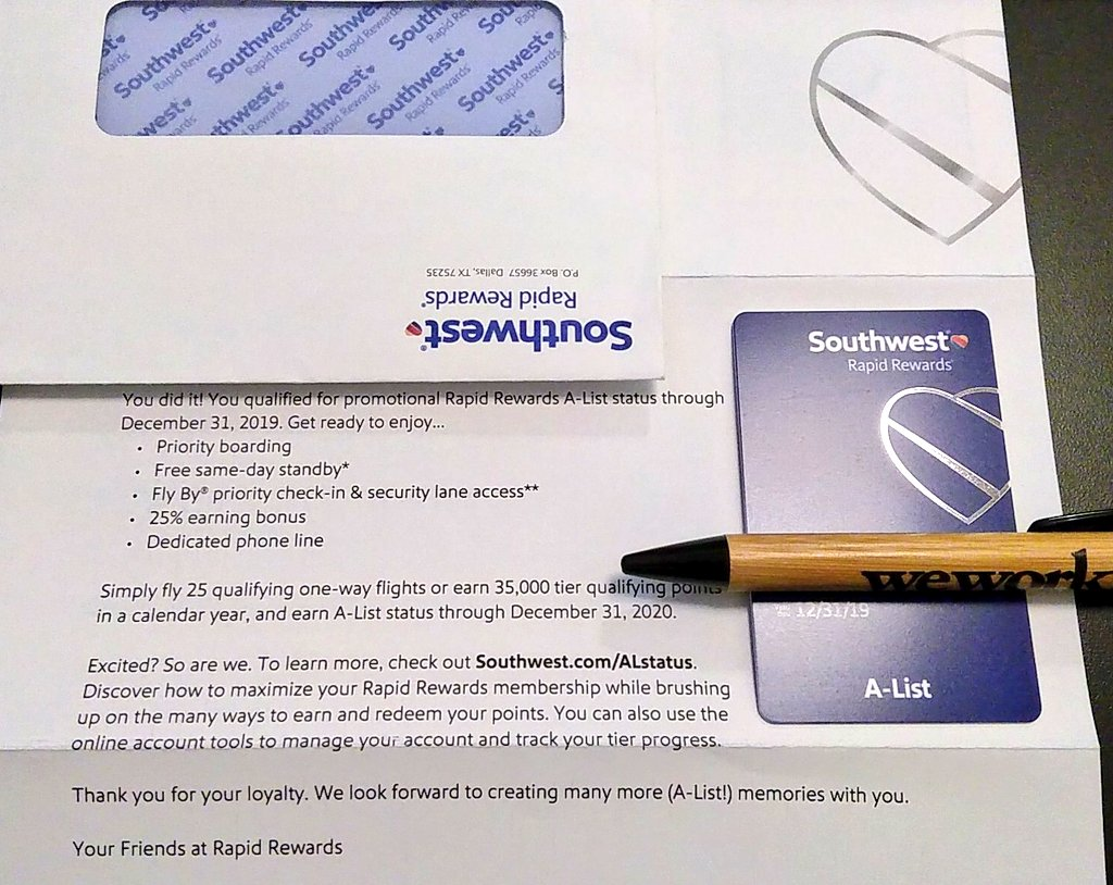 test Twitter Media - Super excited to have finally received my @SouthwestAir #AList card! #MembersGetIt #IFlySWA $LUV https://t.co/5fzUtP3EVi
