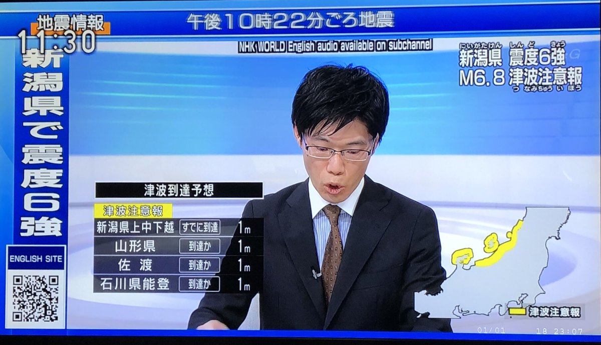 test ツイッターメディア - NHK、井上あさひアナ出てくるかと思ったら糸井羊司アナ https://t.co/nfZirYnnwd