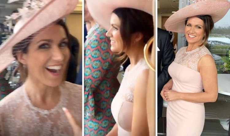 Susanna Reid oblivious to Piers Morgan jibe as she shows off curves at Royal Ascot 2019 https://t.co/HixTOSAESz https://t.co/vyQydgySC3
