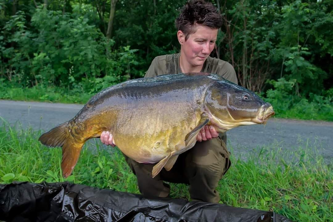 A <b>Beau</b>ty from Mandy. #carpfishing #vasswaders #fishinglife https://t.co/5hbcn7iWen