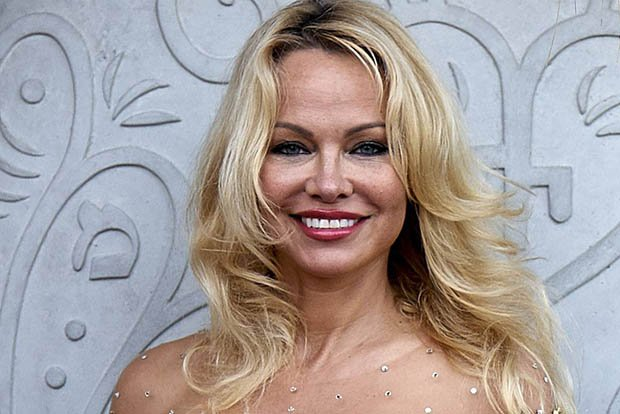 Magnificent Pamela anderson see through