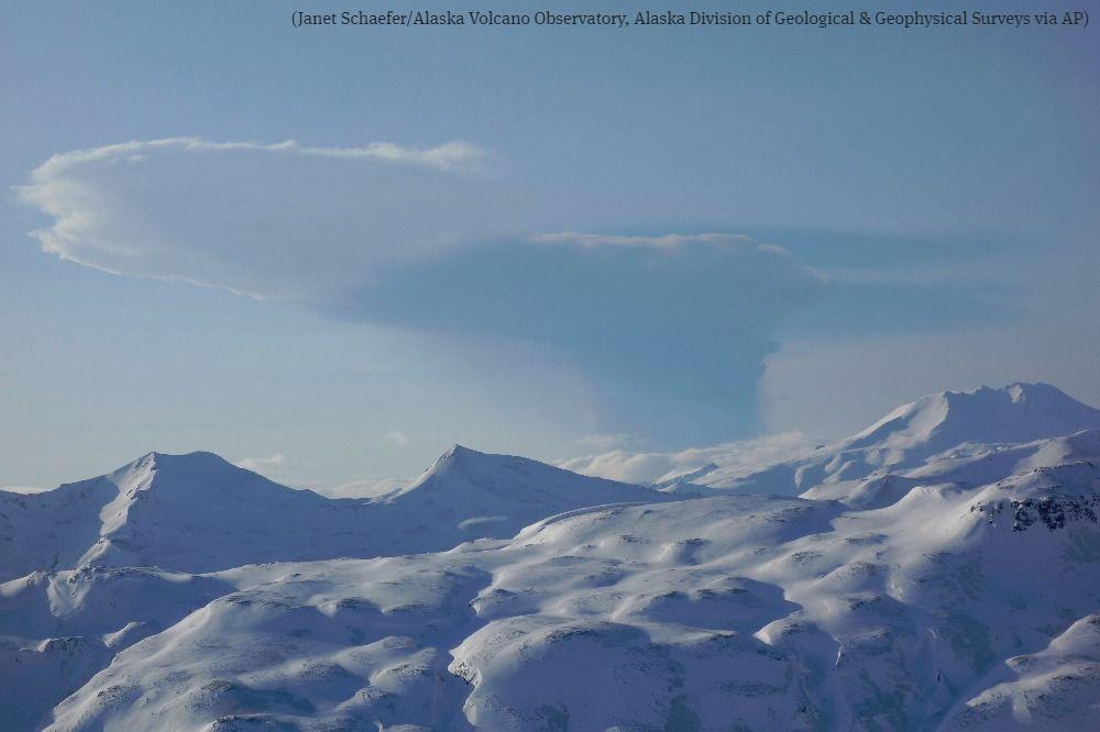 Alaska volcano erupts again; aviation alert raised to red