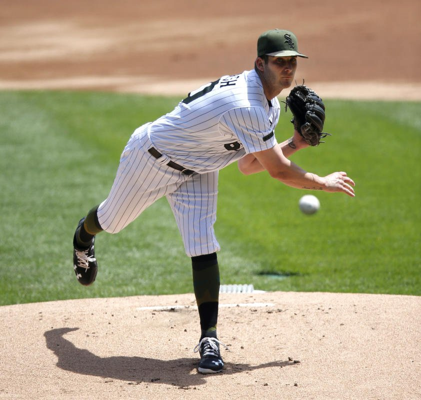 Danish gets first win as White Sox top Tigers 3-0