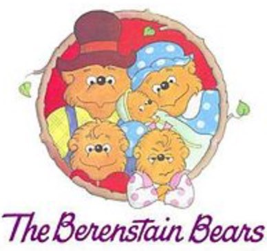 """Okay am I the only one who clearly remembers this being spelt """"The Berenstein Bears"""" w/ an (E) https://t"""