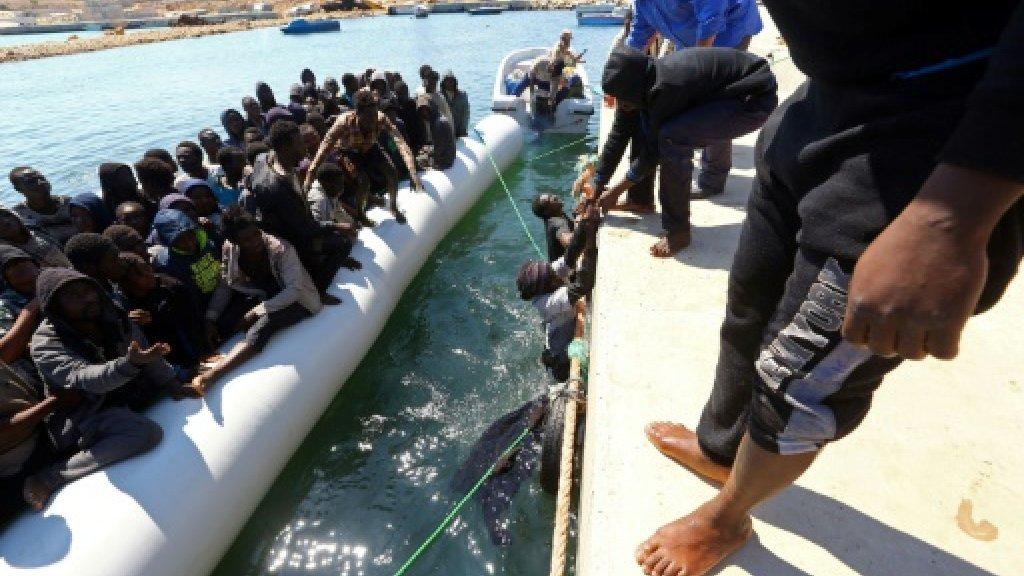 5,000 migrants rescued in 48 hours off Libya