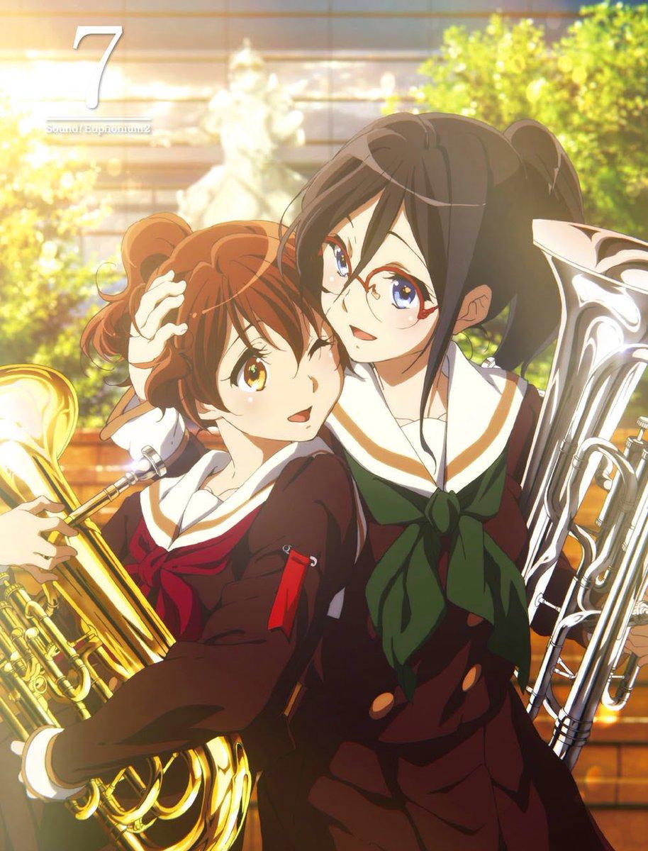 【響け!ユーフォニアム2】BD&DVD第7巻予約受付中!京アニショップ!オリジナル特典は「描き下ろしクリアファイル」と「