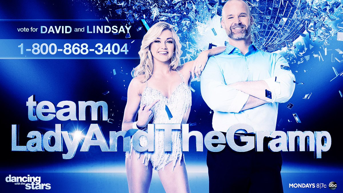.@D_Ross3 needs YOUR help! Don't forget to VOTE for #LadyAndTheGramp! #DWTS