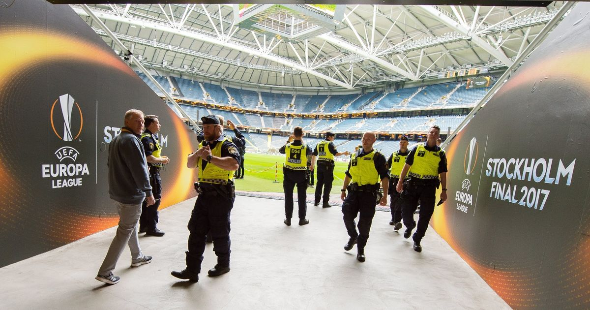 Security tightened for Manchester United's Europa League final vs Ajax at Friends Arena after terror attack