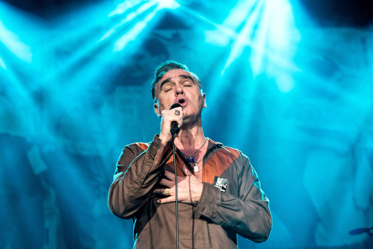 """Morrissey slams """"petrified"""" response to the Manchester bombing:"""
