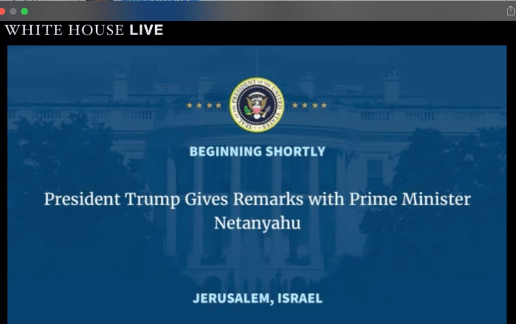 """Trump: No, really, """"the Palestinians are ready to reach for peace"""""""