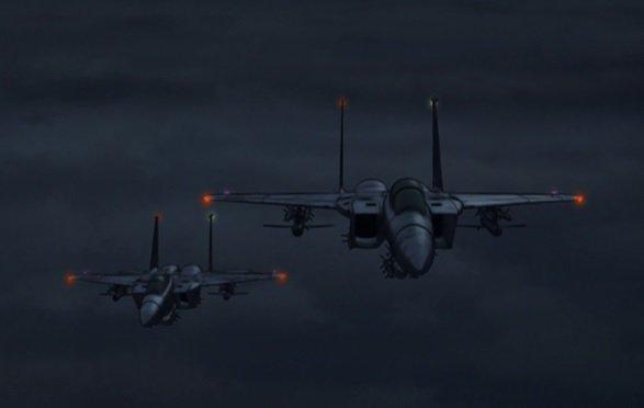 厚木基地・深夜飛行「日米合意厳守を」 市民団体 /神奈川#残響のテロル 11.VON 上昇した風船式核弾頭を、F15戦闘