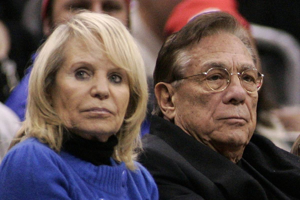 Donald Sterling says he's content, but his wife wants to end his lifetime NBA ban