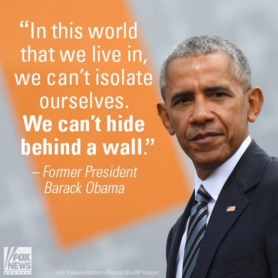Obama jabs Trump ahead of NATO summit
