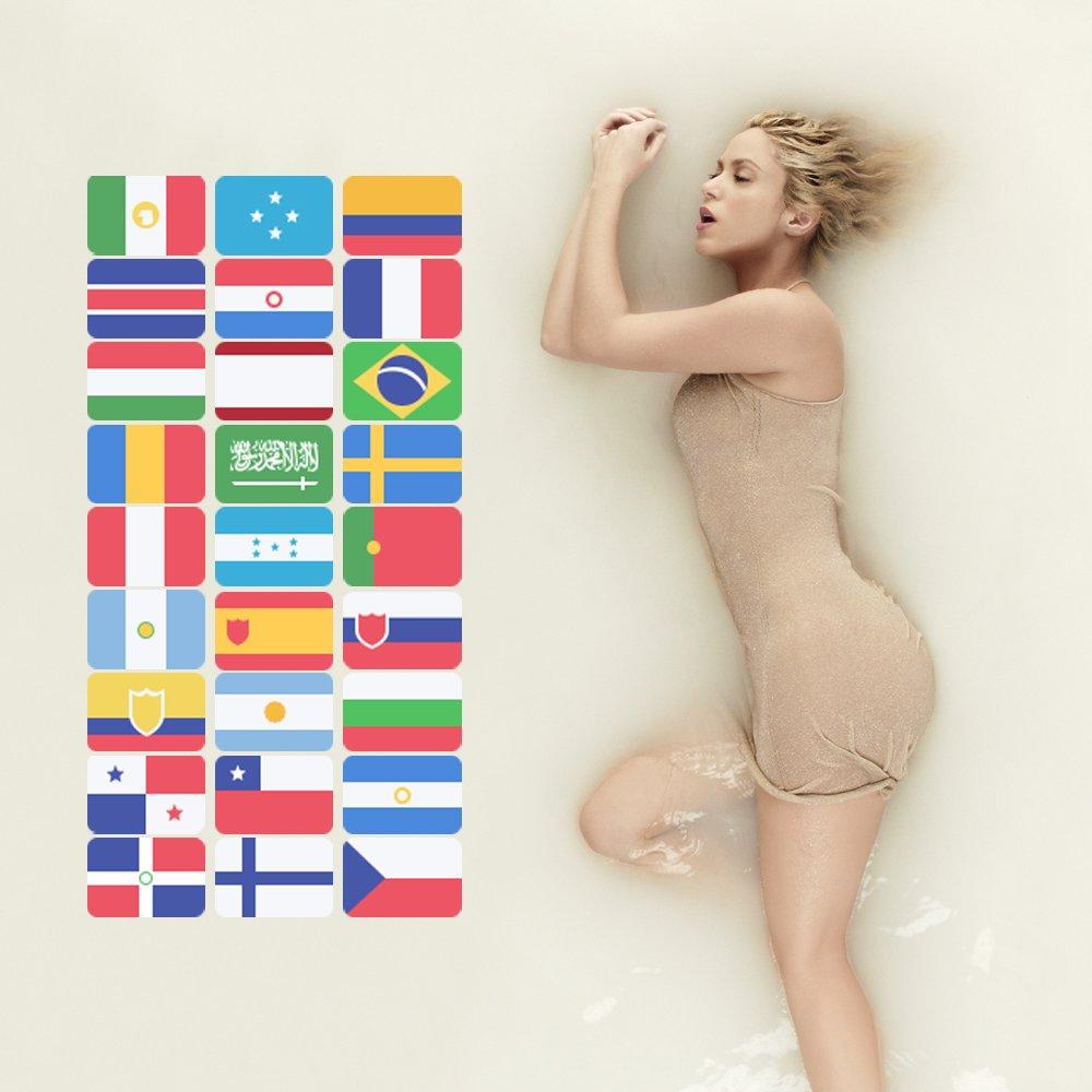 Wow, En pocas horas #ElDorado ya es #1 en 27 países! Increíble! Ustedes son los mejores! Shak https://t.co/paGFGTB8pH