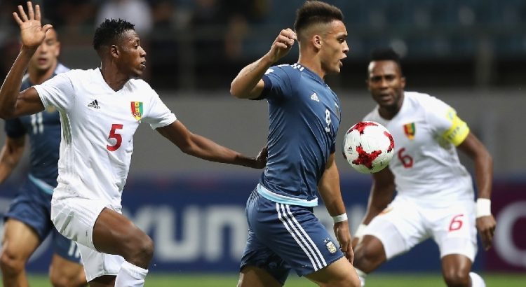 Football Mondial U20 : le Syli de Guinée malmené par l'Argentine (5-0)