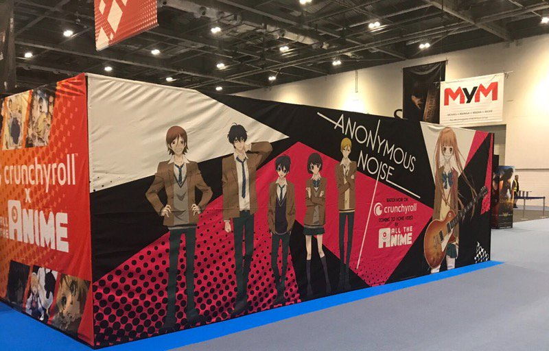 Hello from London!!!昨日から始まった MCM London Comi Conでは、覆面系ノイズの巨大