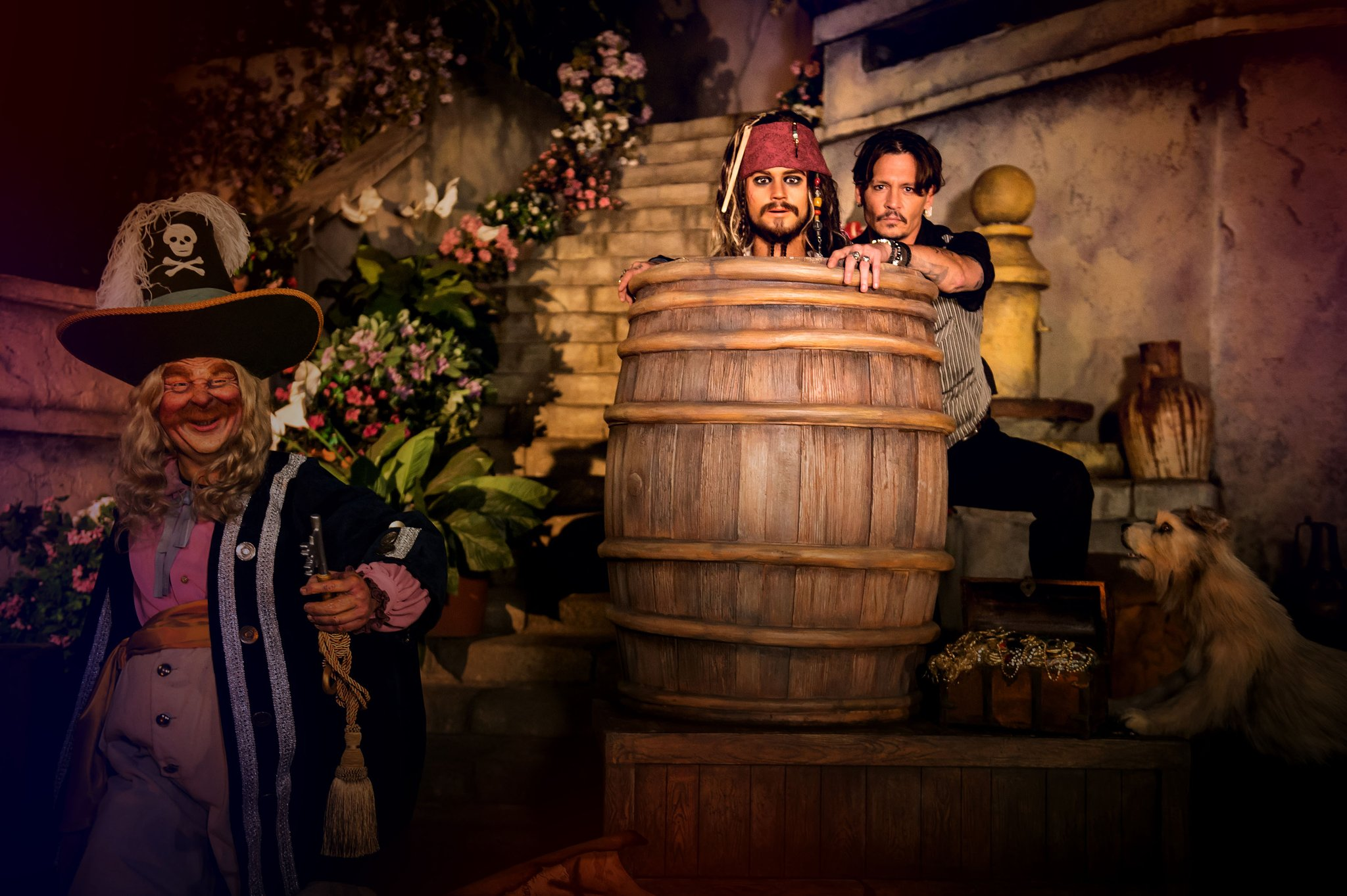 Here is how the refurbished Pirates of the Caribbean ride at @EuroDisneyEN will look like! https://t.co/y6vUcBkoF2