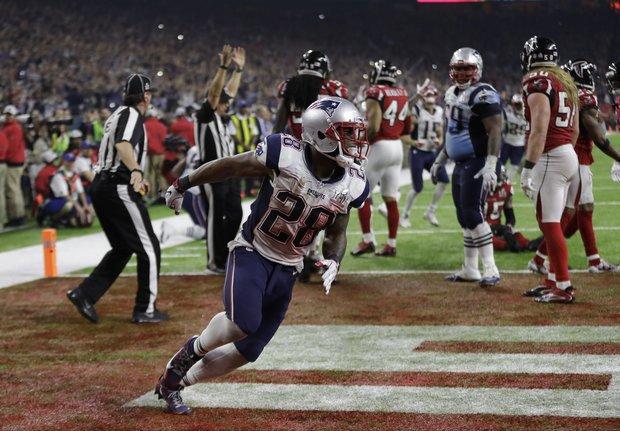 New England Patriots RB James White: 'Nobody cares' about Super Bowl LI performance
