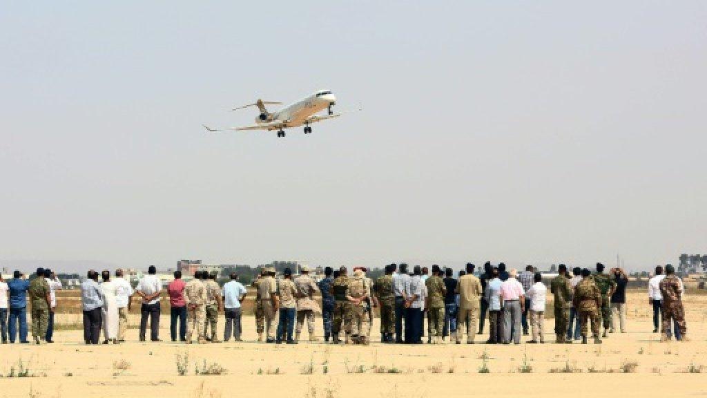 Libya unity forces take control of Tripoli airport