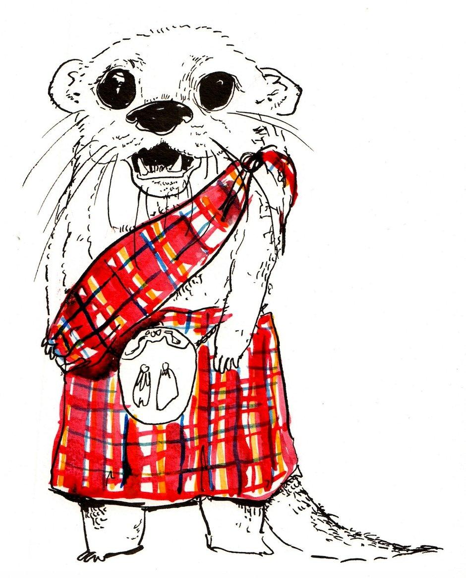 Introducing the Scottish Otter... https://t.co/RHHr02DKeW https://t.co/jAe7zYQWtJ