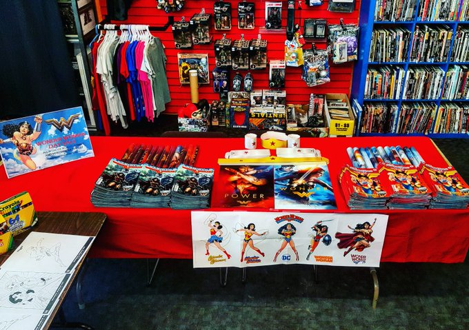 !! HAPPY WONDER WOMAN DAY !! freebies contests FUN WonderWoman WonderWomanDay WWD2017